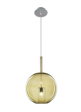 Febe Single Hanging Suspension Lamps Murano Glass according to ancient Venetian traditions. The shapes of the glass are various and all made with smooth glass, both the external sphere and the internal glass.