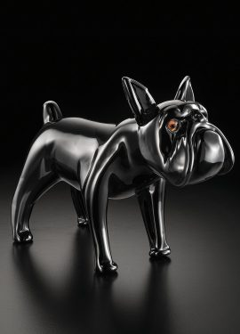 French Bulldog, Murano glass sculpture available in 2 sizes entirely handmade by our glass masters.